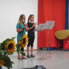 Schön, dass wir gemeinsam mit der Musikschule den Schülerinnen und Schülern etwas für´s Leben mitgeben können!