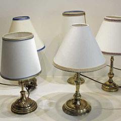 Petite série de chandeliers rénovés entièrement électricité comprise