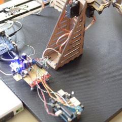 Imagen del robot con detalle en el procesador. Tomado de htxt.africa