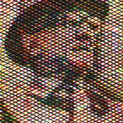 Erich Honecker, Holzschnitt, dreifarbig, Guido Löhrer auf der Aachener Kunstroute 2016