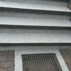 Waschbetontreppe Mit Steinteppich Sanieren Fugenloser Boden