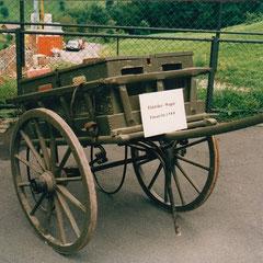 Elektrikerwagen, noch im Gebrauch