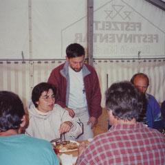 Fränzi und Dieter Anliker, Festwirt