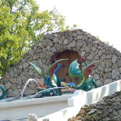 Figuren vom Schachbrett in Peterhof