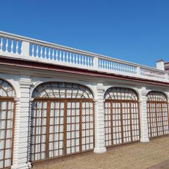 Der Pavillon am Meer