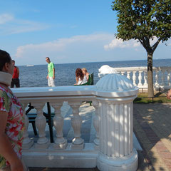 Am Meer in Peterhof