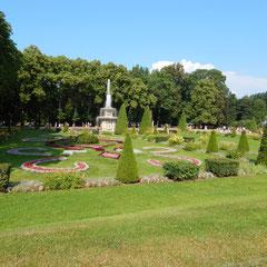 Gartenarchitektur - von einer Stadtrundfahrt von Sankt Petersburg nach Peterhof