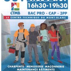 CTMB - 3PP | CAP | BAC PROFESSIONNEL  Portes ouvertes: Vendredi 14 Février 2020 09:00-17:00  CTMB - 390, rue du Colonney - 74700 Sallanches  04 50 58 14 84 | www.ecs-sallanches.fr/lycee-professionnel-ctmb/