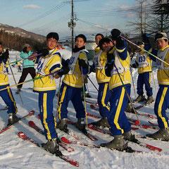 修学旅行 スキー研修