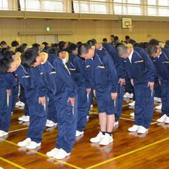 新入生宿泊研修 礼法研修