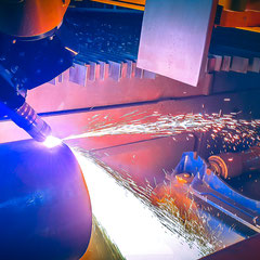 CNC Plasmaschnitt