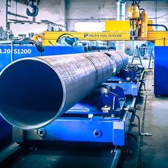 Rohrschnitt CNC Plasmaschneiden Profilbearbeitung