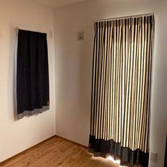 SD541+SD501裾ロールアップ仕様、SD501シェード by Rooms+1様・群馬県