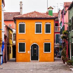 bunte Häuser auf Burano