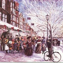 Christmas eve, Southport