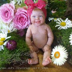 Lea-Maria Mini Baby Ooak Unikat Gewinnerin des MOA Preises