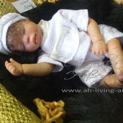 Baby Puppe Ooak Björn aus Polymer
