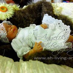 Baby Ooak Puppe aus Polymer