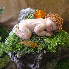 Mia Mini Baby aus Polymer Ooak