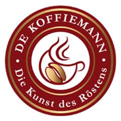 Logo der Kaffeerösterei De Koffiemann