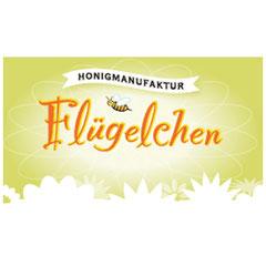 Logo der Honigmanufaktur Flügelchen