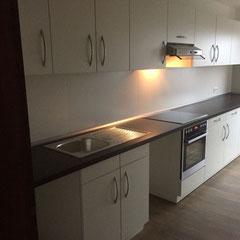 Küchenmontagen für die Firma Fränkel Friedrichshafen