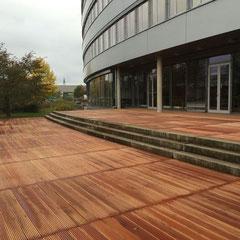 Terrasse in Markdorf bei der Firma Continental - Bankirai -
