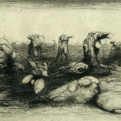 Zweierlei, Motiv 10 -Morgen - 15x19 - Aufl. 108 - 1947 - WVZ.R252