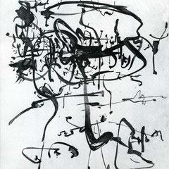 Linien - Radierung - 19 x 23 cm - Aufl. unbekannt - 1950-62 - WVZ.R689