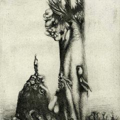 Zweierlei, Motiv 8 -Tierwesen - 21x13 - Aufl. 108 - 1947 - WVZ.R250