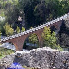 Viadukt der Überwaldbahn