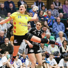 Maxi Hayn (Buxtehuder SV), Milica Covic (SVG Celle)