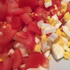 Tomaten- Eisalat