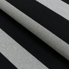 schwarz/grau meliert