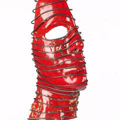 Aurora    Keramik/Metall 2009/10      Größe 24cm