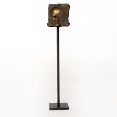 Wissen                   Bronze 2017    Größe 6x6cm