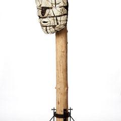 Gesichts Fassade              Keramik/Metall  2012