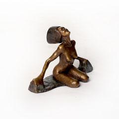 Vergänglichkeit        Bronze 2017    Größe 12cm