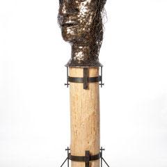 Verkettung der Psyche       Metall/Holz  2011/12