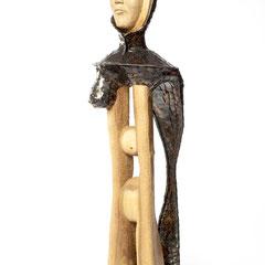 Amazonen Haupt               Holz/Metall 2015  Größe 2m