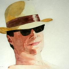 Almut Lehrmann: Mann mit Hut  2002