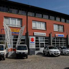 Garage aussen - Hansa-Garage AG - Zürich Oerlikon