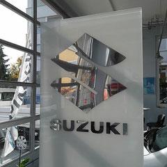 Suzuki Logo - Hansa-Garage AG - Zürich Oerlikon