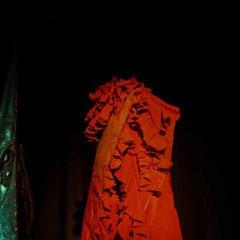 Performance mit dem Künstler KAI / Berlin, Galerie Neurotitan Sept.2015 / Fotos: Fari Fotoalist