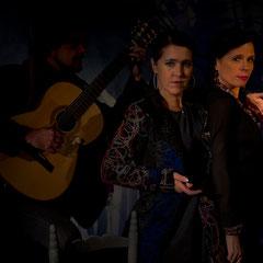 hier mit Laura la Risa & Valle Monje