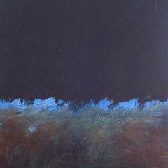Teo Libardo - Bleues n°559, 2016 - acrylique et encre sur toile, 60x60 cm - © Adagp, Paris, 2017