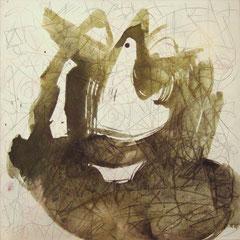 Teo Libardo - Blanches n° 336, 1996 - acrylique sur toile, 60x60 cm - © Adagp, Paris, 2017