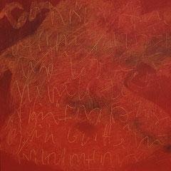 Teo Libardo - Rouges n°449, 2008 - acrylique sur toile, 60x60 cm - © Adagp, Paris, 2017