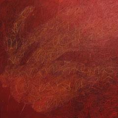 Teo Libardo - Rouges n°451, 2008 -  acrylique sur toile, 60x60 cm - © Adagp, Paris, 2017