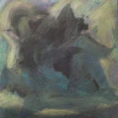 Teo Libardo - Chimères n°513, 2013 - acrylique sur toile, 60x60 cm - © Adagp, Paris, 2017